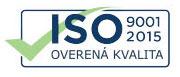 ISO 9001 2015 - Overená kvalita